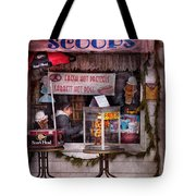 Cafe - Clinton Nj - The Luncheonette  Tote Bag by Mike Savad