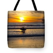 Calm Waters Tote Bag by Athena Lin