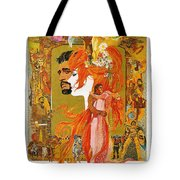Camelot Tote Bag by Georgia Fowler