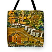 Camp Reynolds Angel Island Tote Bag by Cheryl Young