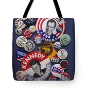 Campaign Buttons Tote Bag by Granger