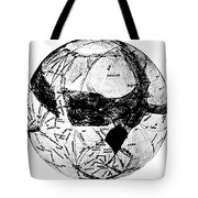 Canals Of Mars, Lowell, 1909 Tote Bag by Science Source