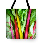 Candy Color Greens Tote Bag by Susan Herber