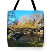 Cape Cod Grist Mill Tote Bag by Catherine Reusch  Daley