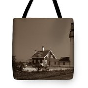 Cape Cod Lighthouse Tote Bag by Skip Willits