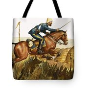 Captain Beresford in The Zulu Wars Tote Bag by James Edwin McConnell