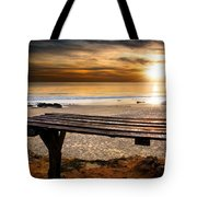 Carcavelos Beach Tote Bag by Carlos Caetano