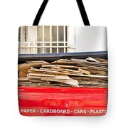Cardboard  Tote Bag by Tom Gowanlock
