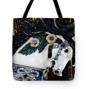 Carousel Horse - 9 Tote Bag by Paul Ward