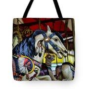 Carousel Horse 6 Tote Bag by Paul Ward