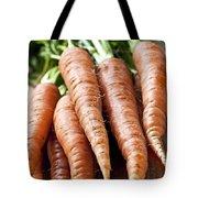 Carrots Tote Bag by Elena Elisseeva