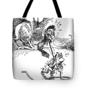 Cartoon: New Deal, 1937 Tote Bag by Granger