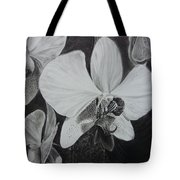 Cascade Of Orchidds Tote Bag by Estephy Sabin Figueroa