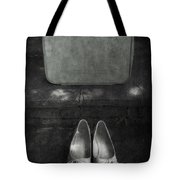 Case And Shoes Tote Bag by Joana Kruse