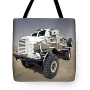 Casper Armored Vehicle Sits Tote Bag by Terry Moore
