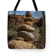 Castle Rock Cairn Tote Bag by Darcy Michaelchuk