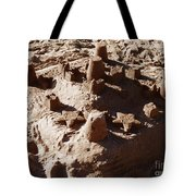 Castles Made Of Sand Tote Bag by Xueling Zou
