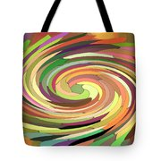 Cat's Tail In Motion. Stained Glass Effect. Tote Bag by Ausra Paulauskaite