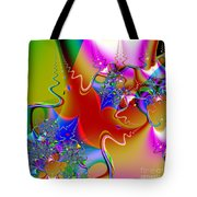 Celebration . Square . S16 Tote Bag by Wingsdomain Art and Photography
