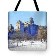 Central Park Tote Bag by Chuck Staley
