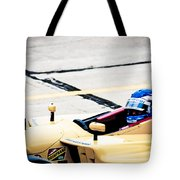 Champ Car Driver Tote Bag by Darcy Michaelchuk