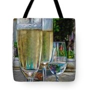 Champagne at the Beach Tote Bag by Joan  Minchak