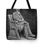CHARLES DARWIN (1809-1882) Tote Bag by Granger