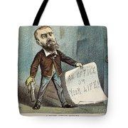 Charles Guiteau Cartoon Tote Bag by Granger