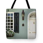 Charleston Doorway - D006767 Tote Bag by Daniel Dempster