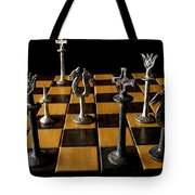 Checkmate Tote Bag by David Salter