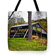 Chew Mail Pouch painted Tote Bag by Steve Harrington