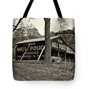 Chew Mail Pouch Sepia Tote Bag by Steve Harrington