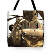 Chinook Tote Bag by Mitch Cat