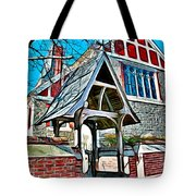 Christ Church Of St Michaels Tote Bag by Stephen Younts
