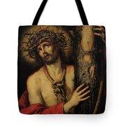 Christ Man Of Sorrows Tote Bag by Antonio Pereda y Salgado