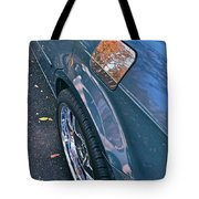 Chrome Tree Tote Bag by Bill Owen