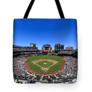 Citifield Tote Bag by Rick Berk
