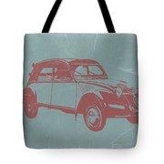 Citroen 2cv Tote Bag by Naxart Studio