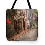 City - Rhode Island - Newport - Journey  Tote Bag by Mike Savad