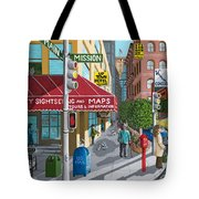 City Corner Tote Bag by Katherine Young-Beck