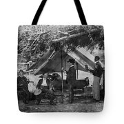 Civil War: Union Camp Tote Bag by Granger
