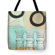 Clarity Tote Bag by Linda Woods