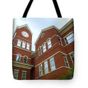 Clock Tower Tote Bag by Renee Trenholm