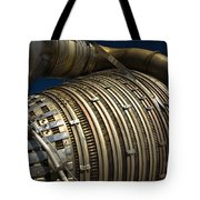 Close-up View Of A Rocket Engine Tote Bag by Roth Ritter