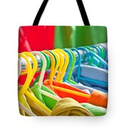Clothes Hanging Tote Bag by Tom Gowanlock