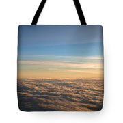 Cloudscape From a 757 Tote Bag by David Patterson