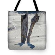 Coastal Driftwood Art Prints Ocean Shore Sand Beach Tote Bag by Baslee Troutman