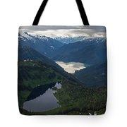 Coastal Range Tranquility Tote Bag by Mike Reid