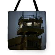 Cob Speicher Control Tower Tote Bag by Terry Moore