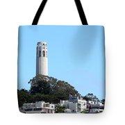 Coit Tower Tote Bag by Henrik Lehnerer